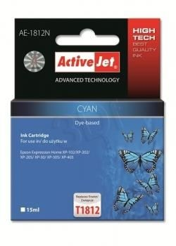 ActiveJet Tusz ActiveJet AE-1812N | Cyan | 15 ml | Epson T1812