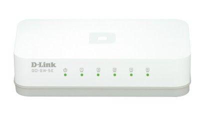 D-Link D-LinkGo 5 Port 10/100 Unmanaged Switch