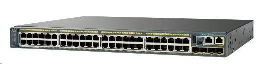 Cisco Systems Switch 48x1GbE 4xSFP LAN Base Flex Stack Option WS-C2960X-48TS-L