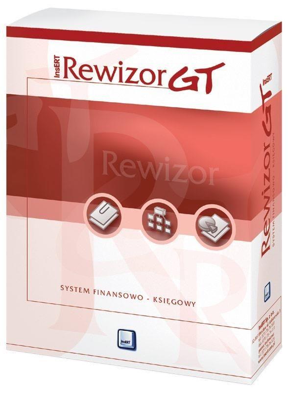 InsERT - Rewizor GT, rozszerzenie Rewizora o 5 lic