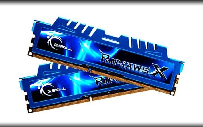 GSkill DDR3 16GB (2x8GB) RipjawsX 2400MHz CL11 XMP