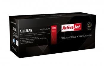 ActiveJet Toner ActiveJet ATH-36AN | Czarny | 2000 pp | HP CB436A (36A), Canon CRG-713