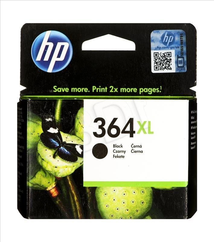 HP Tusz HP 364XL black | 18ml | PS C6380/D5460/B8850
