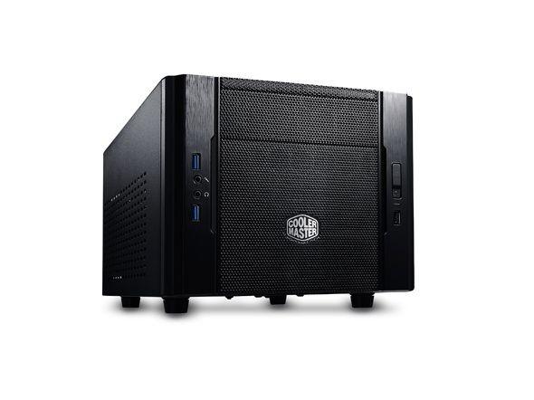 Cooler Master obudowa Elite 130 Water Cooling, Mini ITX (pod zasilacz ATX)