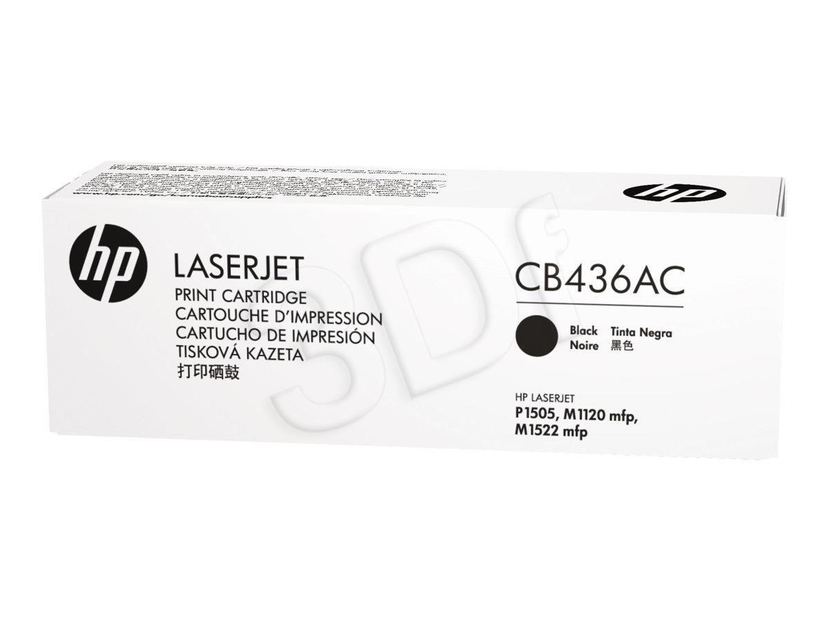 HP Toner HP black   2000str  LaserJet P1505   contract
