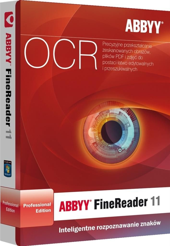 Abbyy FineReader 11 Professional Edition Upgrade BOX EDU