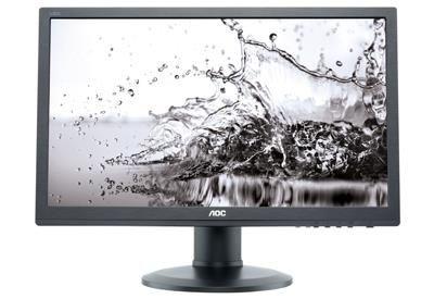 AOC Monitor AOC E2460PDA 24inch, D-Sub/DVI, reg. Wysokości, głośniki