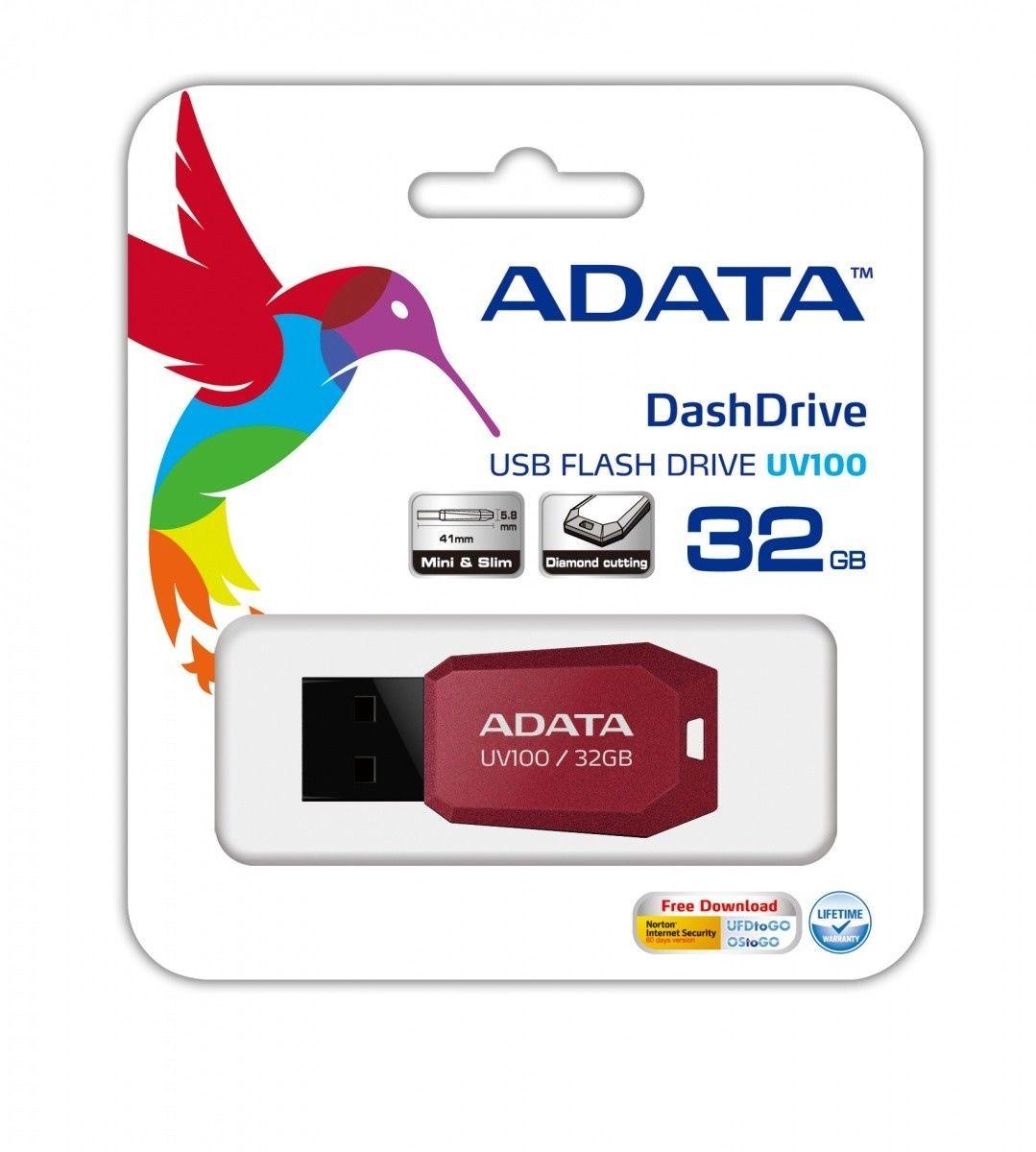 A-Data Pendrive (Pamięć USB) 32 GB USB 2.0 Czerwony