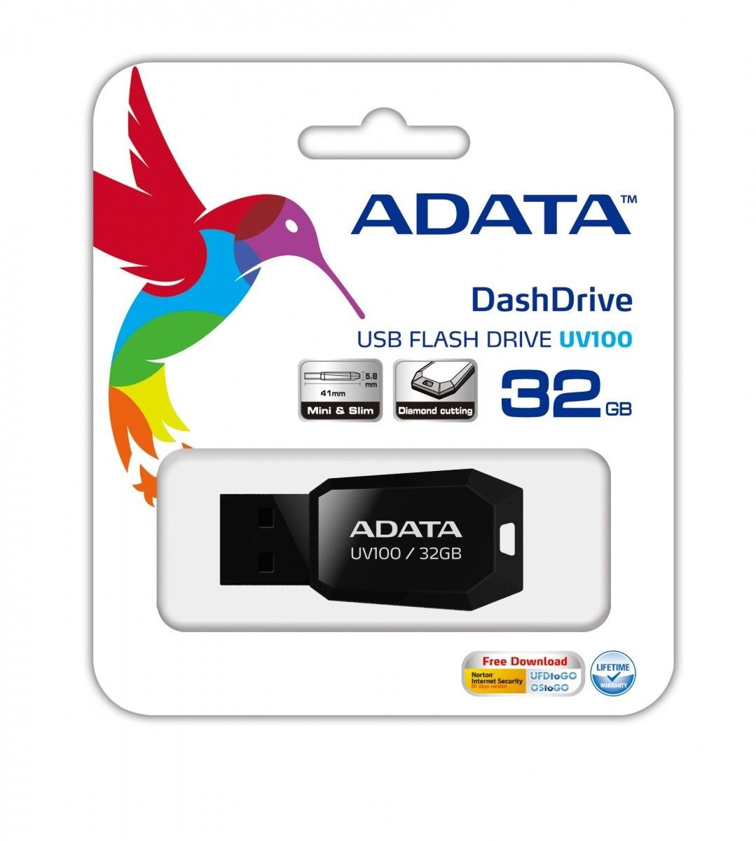 A-Data DashDrive Value UV100 32 GB USB2.0 czarny