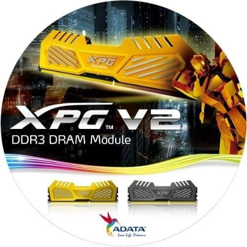 A-Data OC XPG v2 Gaming 2x4GB 2400MHz DDR3 CL11, Radiator