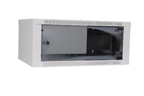 Apranet apra-optinet ecoVARI szafa wisząca 19'' 4,5U/400mm, jednosekcyjna, drzwi szklane