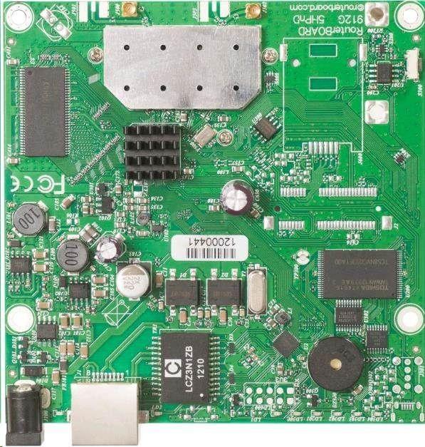 MikroTik Mikrotik RB911G-2HPnD RouterBoard L4 64MB RAM, 1xLAN, 2.4GHz b/g/n, MMCX ports