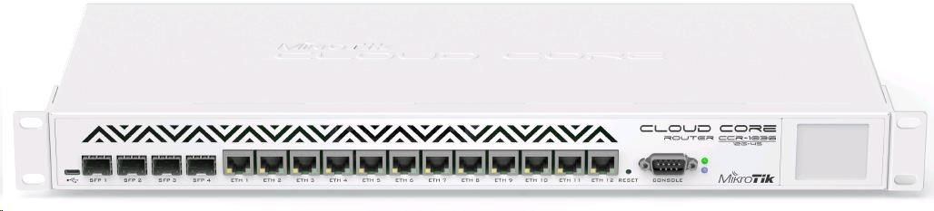 MikroTik CCR1036-12G-4S-EM Router (12XGLAN 4xSFP) - Promocja!