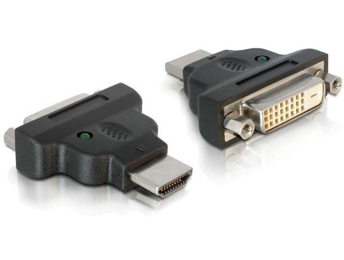 DeLOCK Adapter HDMI(M)->DVI-D(F)(24+1) Dual Link