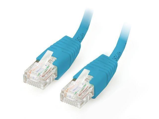 Equip patchcord RJ45, kat. 6, UTP, 5m, niebieski