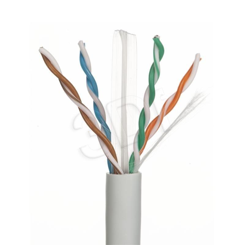 A-LAN Kabel UTP Alantec KIU6LSOH305 ( kat.6 LSOH 305m szary )