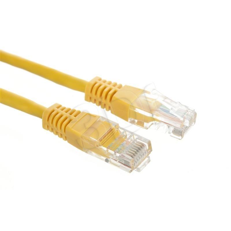 A-LAN Patchcord UTP Alantec KKU5ZOL2 ( RJ45 - RJ45 kat.5e 2m żółty )