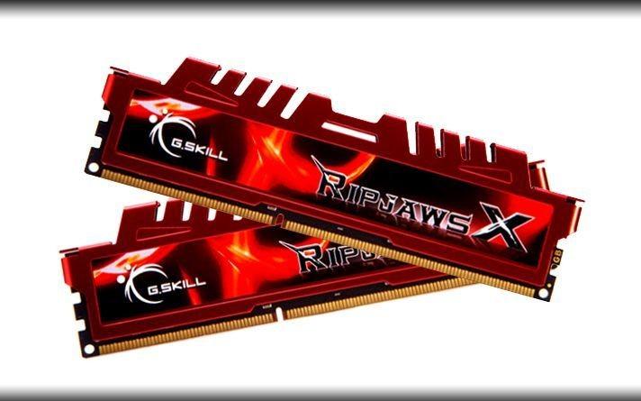 GSkill RipjawsX Pamięć DDR3 8GB (2x4GB) 2133MHz CL9 1.6-1.65V XMP