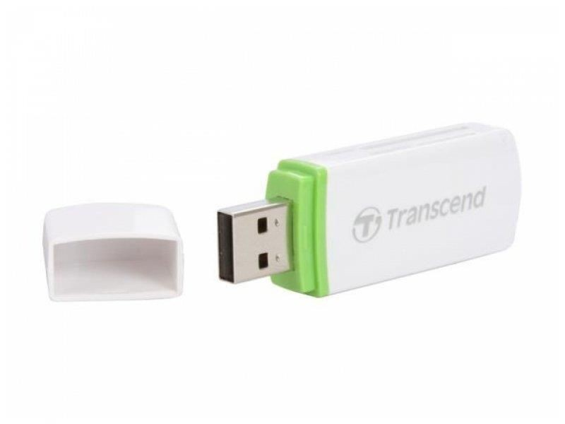 Transcend czytnik kart USB 2.0 White + Soft - Photo Recovery Tool