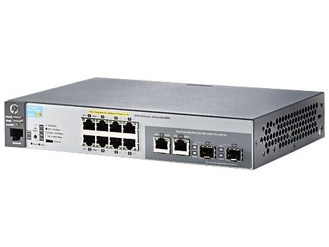 HP ARUBA 2530-8-PoE+ Switch J9780A - Limited Lifetime Warranty