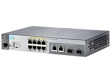HP ARUBA 2530-8G-PoE+ Switch J9774A - Limited Lifetime Warranty