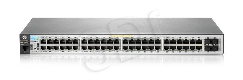 HP Switch zarządzalny Aruba 2530-48-PoE+ Switch (J9778A)