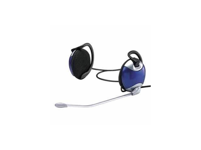 Gembird słuchawki stereofoniczne CLIP ON + mikrofon, 3.5MM Jack