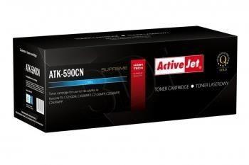 ActiveJet Toner ActiveJet ATK-590CN | Błękitny | 5000 pp | KYOCERA TK-590C