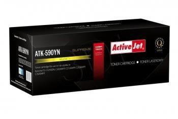ActiveJet Toner ActiveJet ATK-590YN | Żółty | 5000 pp | KYOCERA TK-590Y