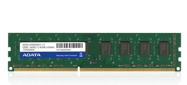 A-Data Adata 4GB DDR3 1600MHz CL11, bulk