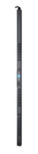 APC Rack PDU 2G, Metered by Out. w.Switch., ZeroU, 11.0kW, 230V, 21x C13, 3x C19