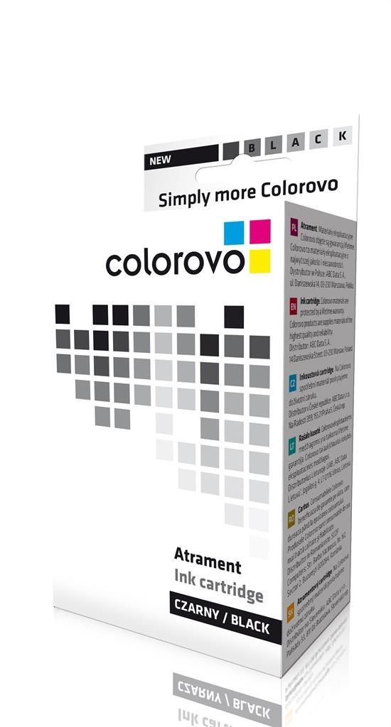 Colorovo Atrament 550-BK-XL | Black | 23 ml | Canon PGI550 XL