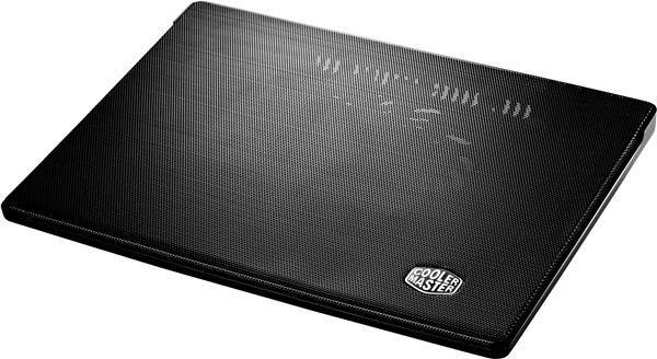 Cooler Master CoolerMaster chladicí podstavec i300 pro NTB 7-17 black, 16cm blue LED fan
