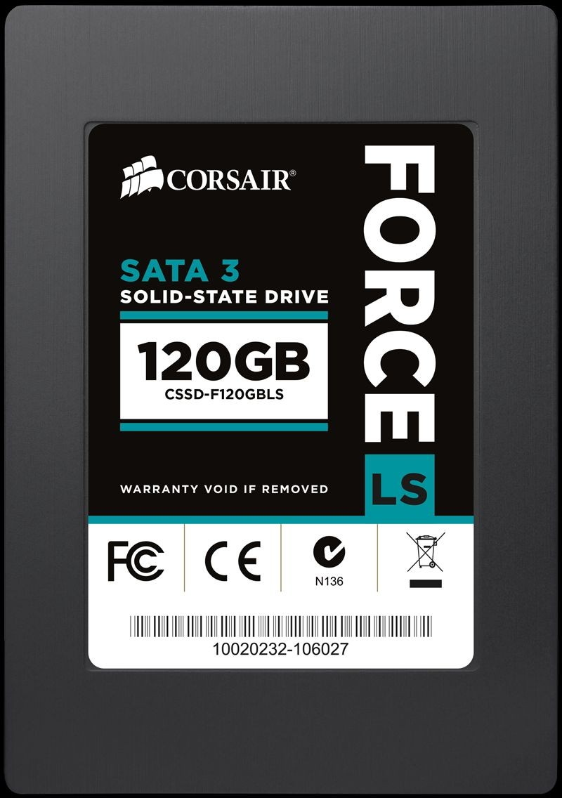 Corsair Force LS Series 120GB SATA3 2,5' 540/450 MB/s 7mm