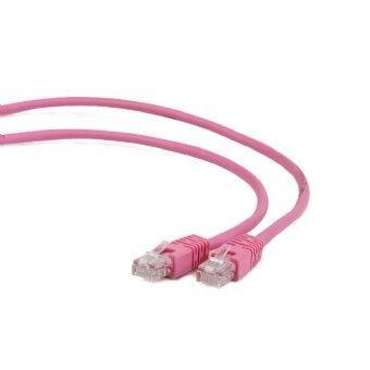 Gembird patchcord RJ45, kat. 6, FTP, 0.25m, różowy