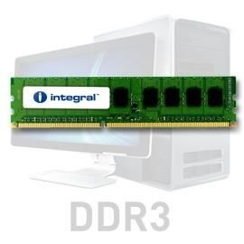 Integral 8GB DDR3-1600 ECC DIMM CL11 R2 UNBUFFERED 1.5V