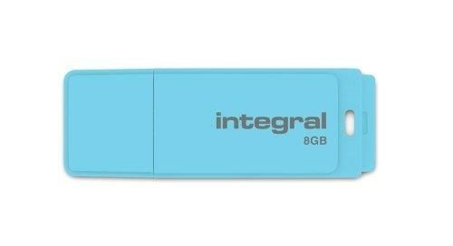 Integral pamięć USB 8GB PASTEL Blue Sky