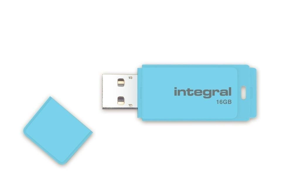 Integral pamięć USB 16GB PASTEL Blue Sky