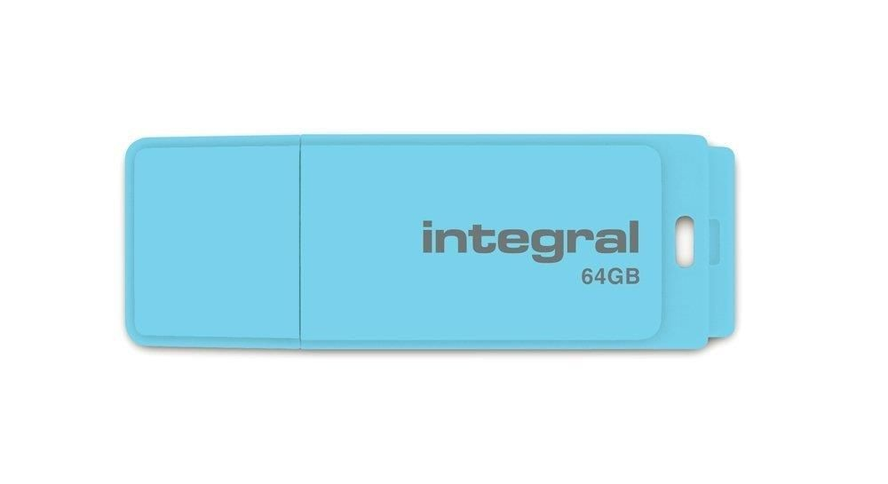 Integral pamięć USB 64GB PASTEL Blue Sky