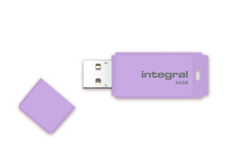 Integral pamięć USB 64GB PASTEL Lavender Haze