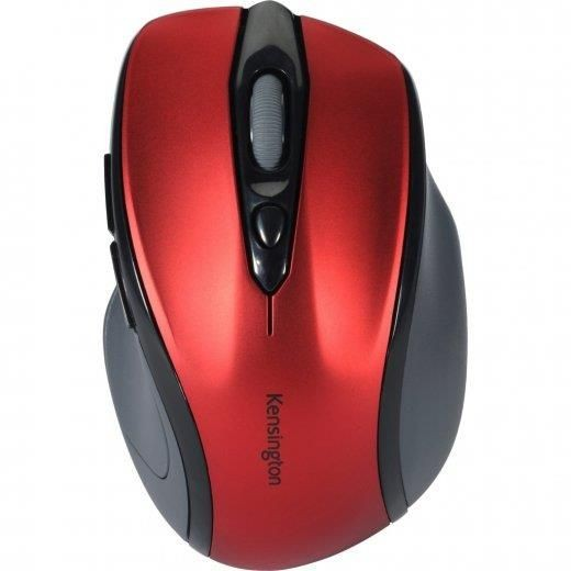Kensington Mysz Pro Fit Mid Size Wireless Ruby Red Mouse