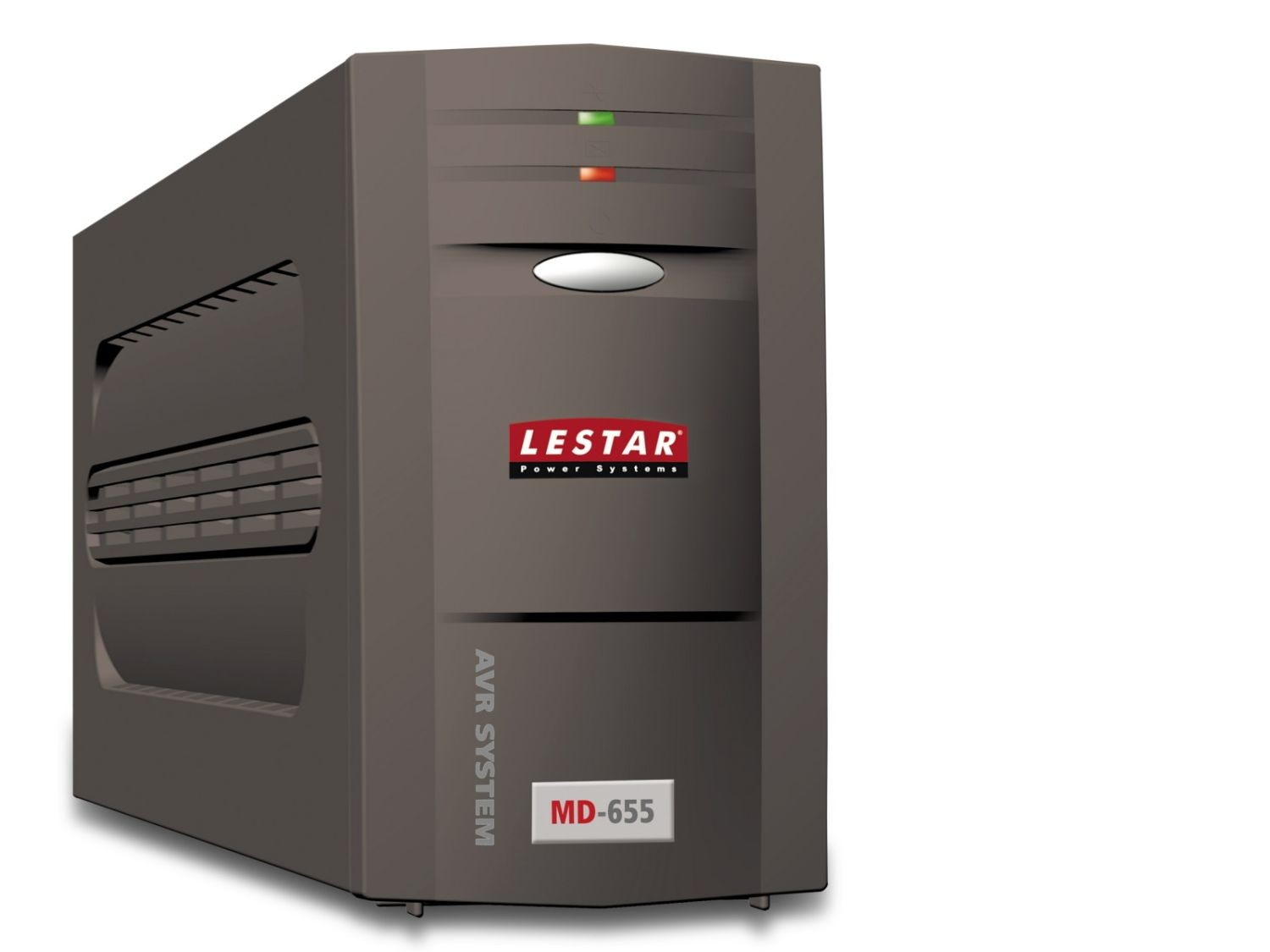 Lestar UPS MD-655 625VA/375W AVR 3xIEC + 1xIEC printer USB RJ 11 BLACK