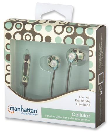 Manhattan Słuchawki douszne Stereo - Cellular