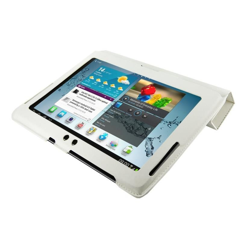 4World Etui ochronne/Podstawka do Galaxy Tab 2, 4-Fold Slim,, 10'', białe