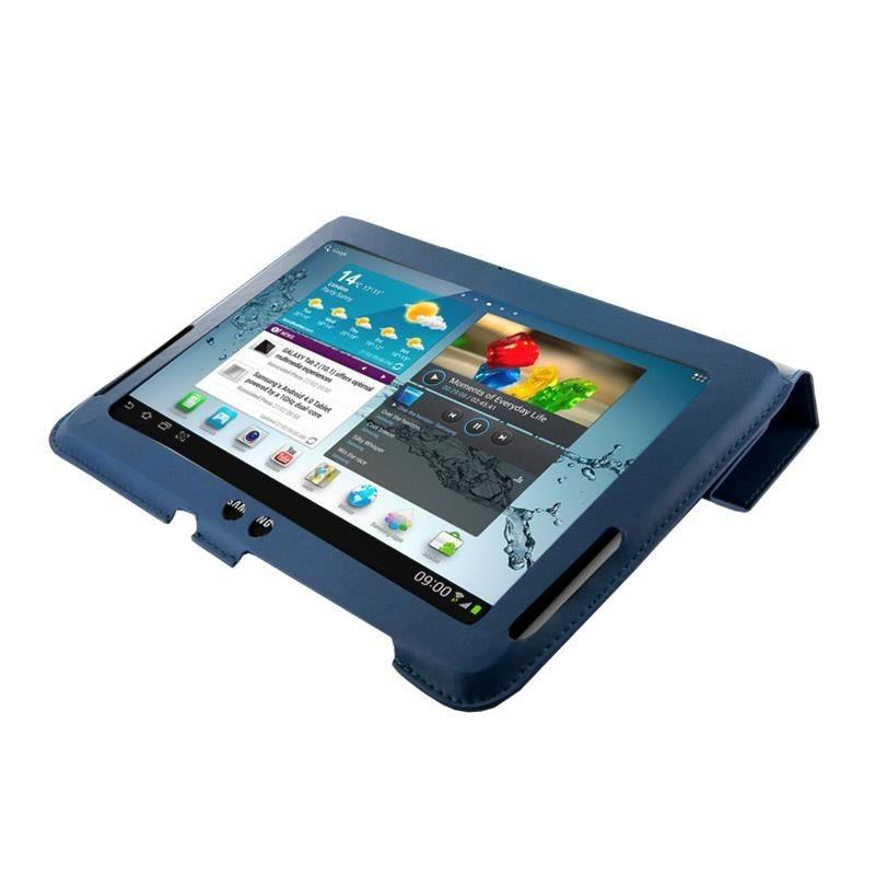 4World Etui - stand dla Galaxy Tab 2, 4-Fold Slim, 10'', niebieskie