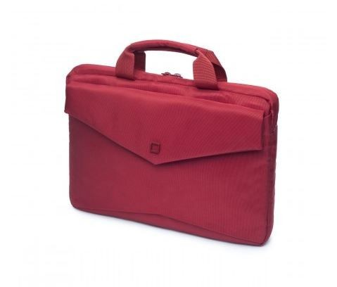 Dicota Code Slim Case 13' Red - czerwona torba na Macbook lub notebook 13.3' i tablet do 10'