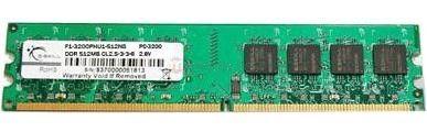 GSkill DDR3 2GB 1333MHz CL9 256x8 1 rank