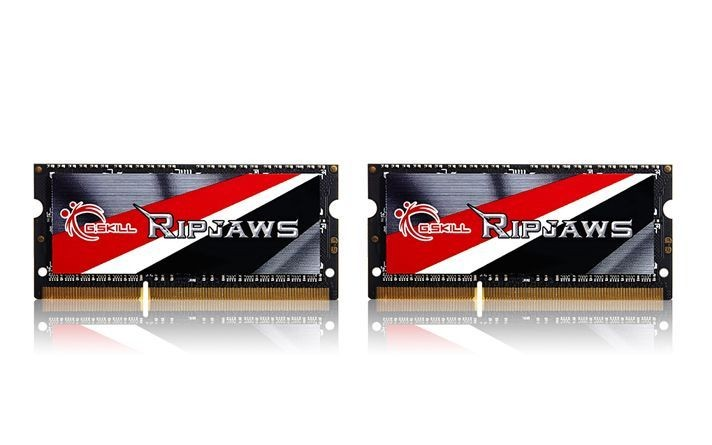 GSkill Ripjaws Pamięć DDR3L 16GB (2x8GB) 1600MHz CL9 SO-DIMM 1.35V