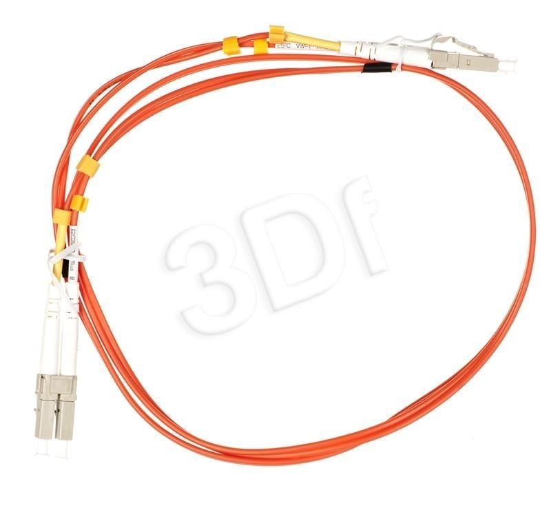 A-LAN Patchcord światłowodowy MM Alantec ( LC - LC OM2 50/125 duplex LSOH 1m pomarańczowy )