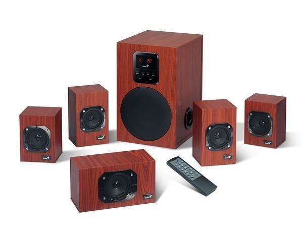 Genius głośniki SW-HF5.1 4800, 125W, EU